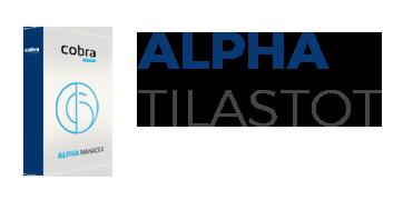 Alpha tilastot / raportointiohjelma